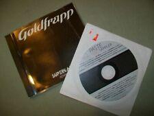 Goldfrapp      **PROMO CD LOT **     Rocket  --  Supernature