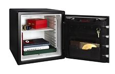 Electronic Fire Safe Security Lock Box Waterproof Steel Money Cash Gun Storage