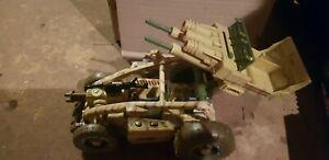 Vintage Hasbro Gi joe Sand Razor Dune Buggy USA4X-0023 2003 vehicule