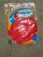 1978 WHAM-O Regular Frisbee, 85 Grams , color: Red ,new in package!