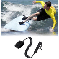10' Coil Surfboard Leash Surfing Stand Up Paddleboard Surf Paddle Board SUP