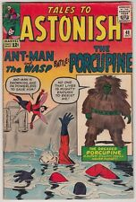 Tales To Astonish #48, Marvel Comics 1963, Vg+ Condition, 1St Porcupine