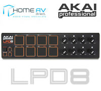 BRAND NEW Akai LPD8 Laptop Midi USB Controller Drum Pad LPD 8 Live Performance