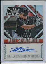 2014 PANINI PRIZM ROOKIE KYLE SCHWARBER AUTOGRAPH CHICAGO CUBS