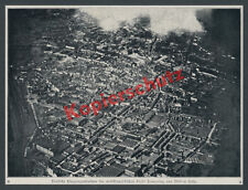 Fjord Tourcoing Gare USINES TEXTILES Luftwaffe Front Ouest France 1917