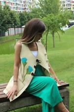 Handmade Felt Vest Nuno Felting Handmade Wool Vest Felted Jacket Merino UNIQUE