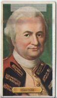 Lord Robert Clive British India Battle of Plassey Empire 80+ Y/O Trade Ad Card