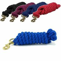 Leadrope PURPLE 2M Cotton Lead rope HORSE,PONY,DOG Save up to 25/%