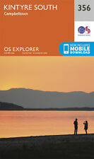 Kintrye South Explorer Map 356 - New - OS - Ordnance Survey 2015