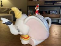 Vintage Disney Dumbo and Timothy Ceramic Teapot
