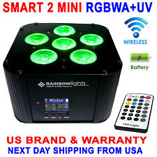 LED  6x18W RGBWA+UV Battery Powered WIRELESS DMX Par Can DJ Uplighting Up Light