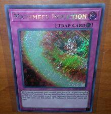 Mathmech Induction 1st Edition Secret Rare MYFI-EN013 Yu-Gi-Oh Mystic Fighters