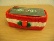 KNITTING PATTERN: Christmas After Eight Chocolates box cover