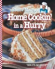 The Best of Mr. Food Home Cookin' in a Hurry-ExLibrary