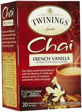 Twinings French Vanilla Chai, 20 ct (2 Pack)