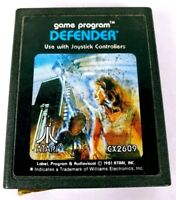 Defender (Atari 2600, 1981) Game Cartridge Only No Box