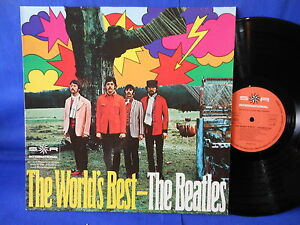 THE BEATLES world's best 77235 ORIG GERMANY EXC+