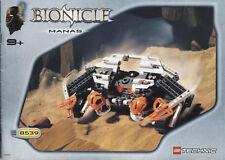 Lego Bionicle # 8539 Manas - Bauanleitung (keine Steine!)