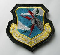 STRATEGIC AIR COMMAND USAF PLEATHER TRIM EMBROIDERED PATCH 4 X 4.2 INCHES FORCE