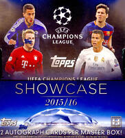 2015 Topps UEFA Champions League Soccer - Pick A Player