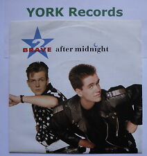 """2 BRAVE - After Midnight - Excellent Condition 7"""" Single London LON 221"""