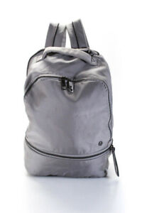 Lululemon Womens Adjustable Gym Backpack Gray