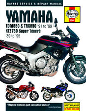 Haynes Manual 3540 - Yamaha TDM850, TRX850 & XTZ750 (89 - 99) workshop/service