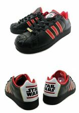 Adidas ULTRASTAR STAR WARS DARTH VADER S.W Shoes 9.5   Limited Edition NEW RARE