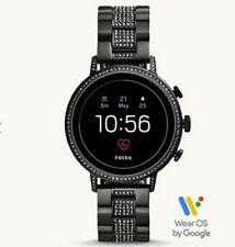 Fossil Men Women Black Gen 4 Stainless Steel Touchscreen Smartwatch FTW6023 $275