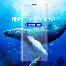 *screen Protector 3d Full Cover Curved Tempered Glass for Samsung Galaxy Note 8 Blue