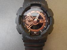 Casio Baby G Shock Resist Watch mbga 7-15 MEN'S orologio da polso Cinturino NERO Nuovo con etichette