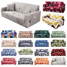 1 2 3 4 plazas sofá de estiramiento Universal Protector Cubre Sofá Cubierta Slipcover UK