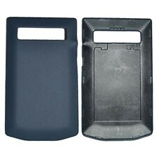 New Porsche Design Leather Battery Door Cover Yachting Blue for Blackberry P9981