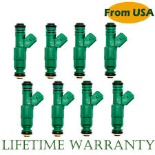Set (8) 42lb EV1 Fuel Injectors For Chevrolet Pontiac Ford TBI LT1 LS1 LS6 440cc