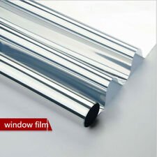 Mirrored Window Film One way Glass Reflective solar tint House Heat reduction