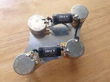 50's Wiring Gibson Epiphone Les Paul Harness 500k CTS Pot .047 Vitamin Q PIO Cap