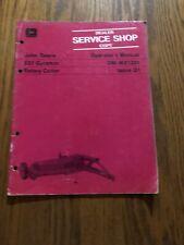 John Deere 527 Gyramor Rotary Cutter Operators Manual P/N Omw21201