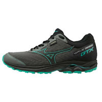 Mizuno WAVE RIDER 22 GTX Women's Running Shoes Black Marathon Walking J1GD187905