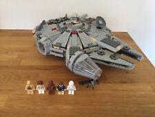 Lego Star Wars 4504 Halcón Milenario 100% Completo + instrucciones Rara Vintage