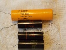 4 Sprague Atom and Black Beauty Capacitors