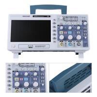 "7"" TFT LCD 110-240V DSO5102P Digitale Oscilloscopio 100MHz 2 Canali 1GSa/s Kit"