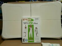 Nintendo Wii Fit Plus with Balance Board Bundle Game Manual Tested Clean Fun