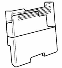 Kenmore Elite Refrigerator 795.73055.410 Ice Container Assembly Akc73249303