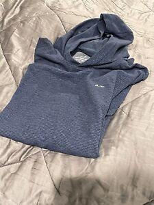 Vineyard Vines Men's Blue Performance Long Sleeve Hoodie Pullover XL Hoodie NWOT