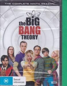 The Big Bang Theory : Season 9 : Brand New (W, DVD, 206, Region 4)