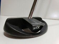 "STX Sync Series 2 Putter Center Shafted Steel Left Handed 35"" Black LH"