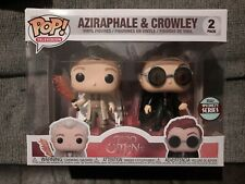 More details for terry pratchett good omens funko pop 2 pack specialty series