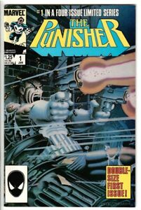 PUNISHER LIMITED SERIES #1, HIGH GRADE, 1st Solo APPEARANCE, 1/1986 MARVEL A765