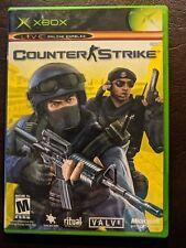 Counter-Strike (Microsoft Xbox, 2003) w Case & Manual +3 Inserts Very Nice!