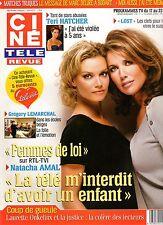 CINE REVUE (belge) 2006 N°11 natacha amal gregory lemarchal teri hatcher
